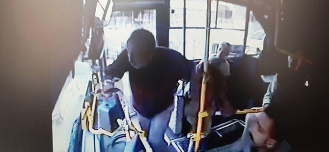 Otobüs sürücüsünü bıçakla yaraladı, serbest bırakıldı