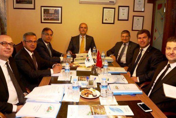 Başkan Köşker, encüman toplantısına katıldı