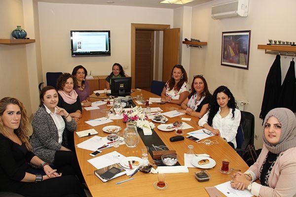 Kadın İnşaat Mühendisleri Komisyonu İlk Toplantısını Yaptı