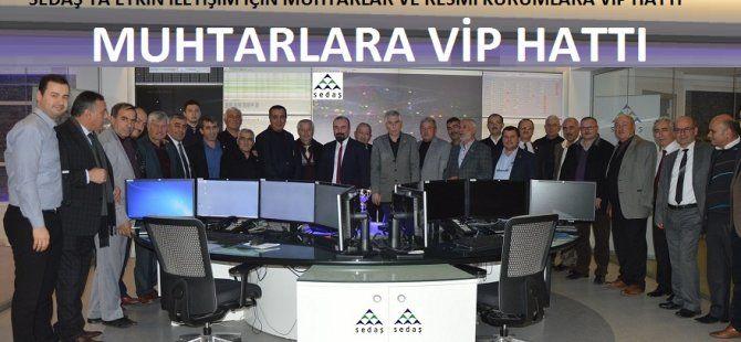 Sedaş'ın VIP hat uygulaması