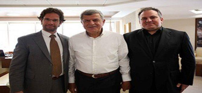 Başkan Karaosmanoğlu, Başkonsolos Hendrich'i konuk etti