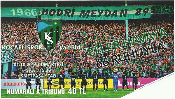 Vanspor maçının biletleri satışta