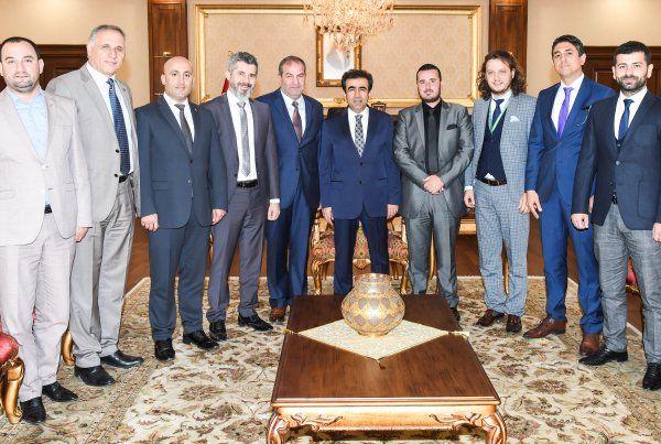 Kocaeli Valisi Güzeloğlu'na ziyaret