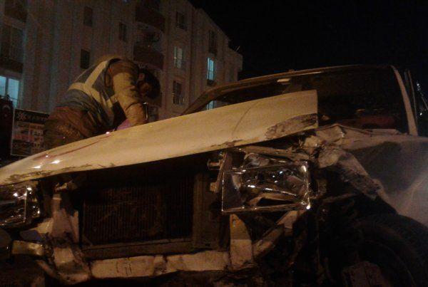 Derince'de kaza:1 yaralı
