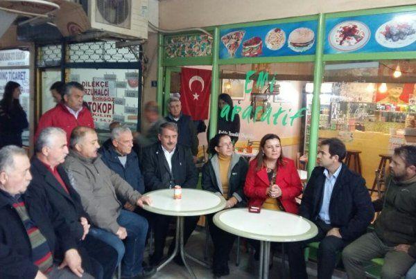Milletvekili Hürriyet, fabrika işçilerine destek verdi