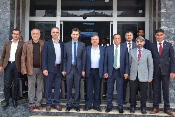 İlçe başkanlarında Toltar'a ziyaret
