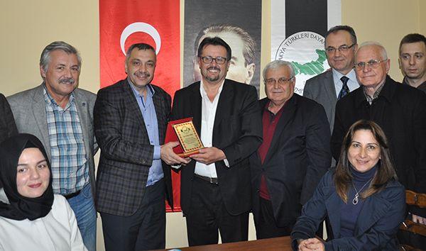 Batı Trakya Türkleri Dost Meclisi'nde Toker konuştu