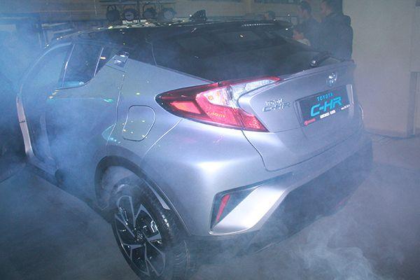 Toyota C-HR, Kocaeli Kaya'da beğeniye sunuldu