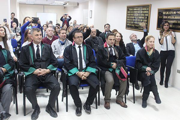 Baroya 78'inci yılda yeni avukatlar