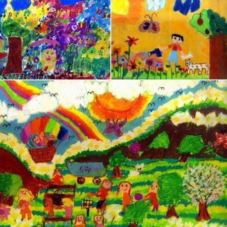 """""""Çocuk gözüyle gelecek"""" konulu resim yarışması"""