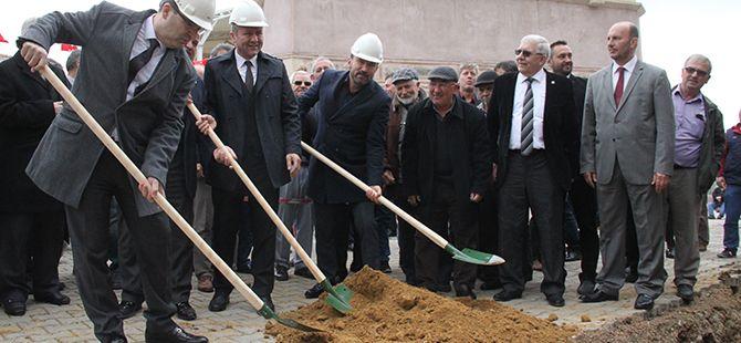 Akmeşe'de tarihi bir gün