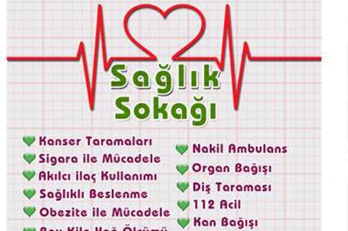 İzmit ve Gebze'de Sağlık Sokağı kuruluyor
