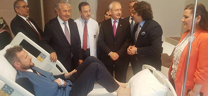 Kılıçdaroğlu'ndan CHP'li vekilin eşine ziyaret