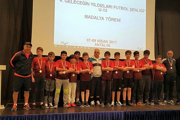 TÜFAD U12Karması, Antalya'da göz doldurdu