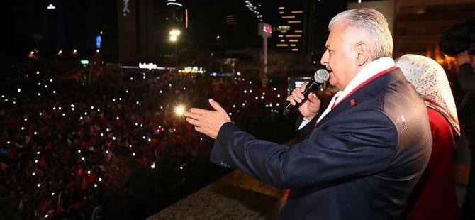 Başbakan Yıldırım: Türkiye'nin, milletin dediği oldu