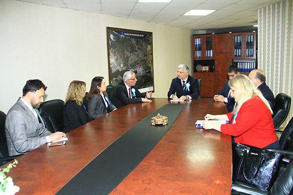 Başkan Vekili Özak, turizmcilerle bir araya geldi