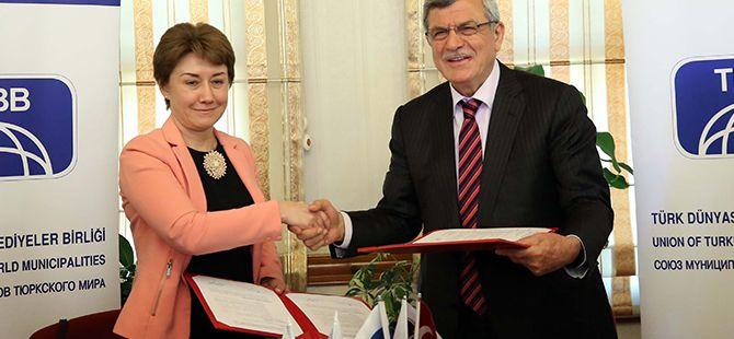 TDBB ve Rusya Şehirler Birliği arasında işbirliği
