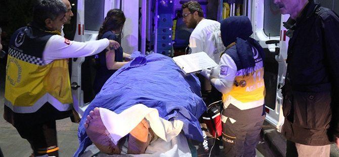 1 kişi İstanbul'a sevk edildi! Yaralılar hakkında açıklama