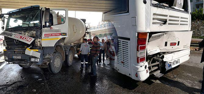Gebze'de faciaya ramak kala! Onlarca yolcu ölümden döndü