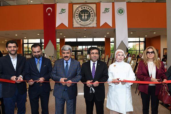 KOÜ'de 1.İslam Sanatları Sergisi