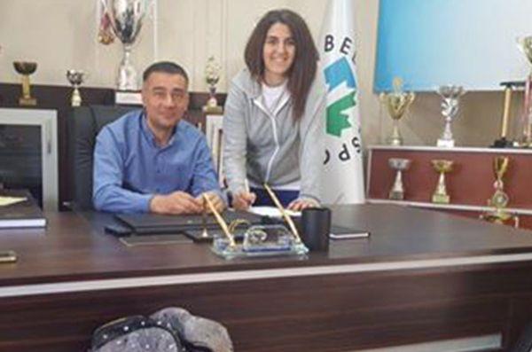 İzmit Belediyespor'da basketbol okullarının başına Aynur Metin getirildi