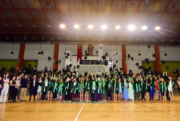 İ.İ.B.F.'den tam 1250 mezun