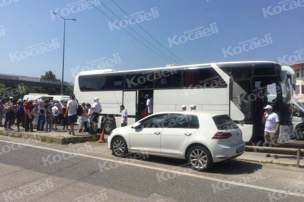 CHP'nin ilk 'Adalet Otobüsü' yolda kaldı