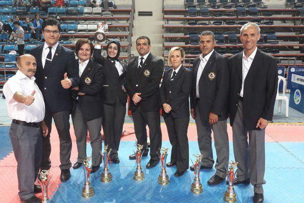 Marmara Karate Cup'a ilimizden 9 hakem