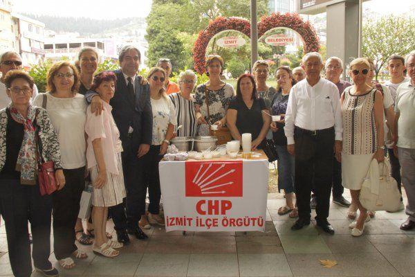 CHP Helva dağıttı