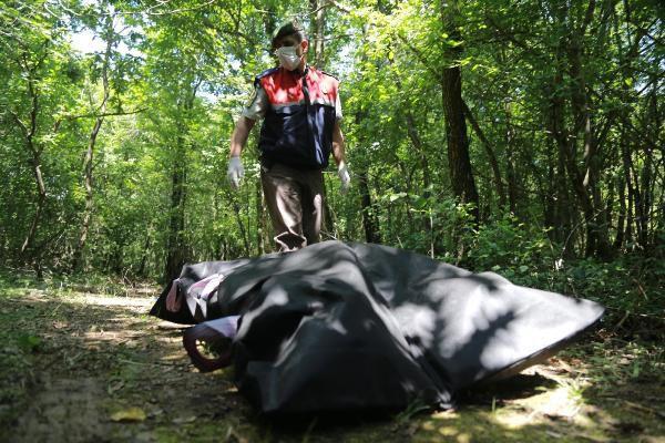Ormanda vahşet! Yakılmış ceset bulundu
