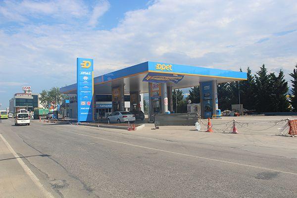 Kandıra Sapağı'nda yeni bir akaryakıt istasyonu
