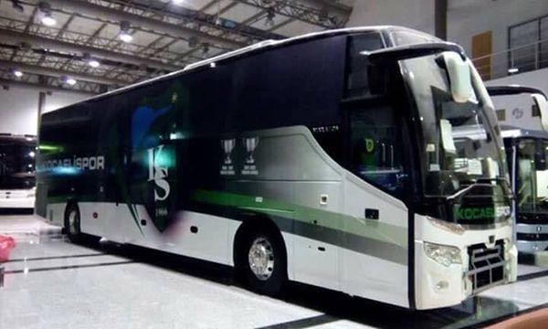 İşte Kocaelispor'un yeni otobüsü