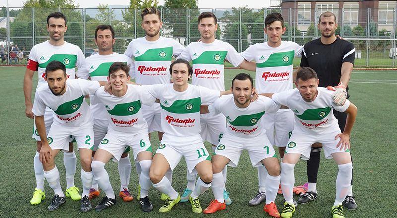 Gölcük Başkanlık Kupası'nda 1.Küme takımları kazandı