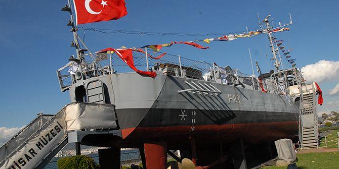 Müze gemi 11. yılını kutladı