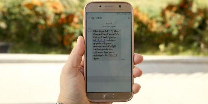Mağdur vatandaşı bilgilendirmede SMS dönemi