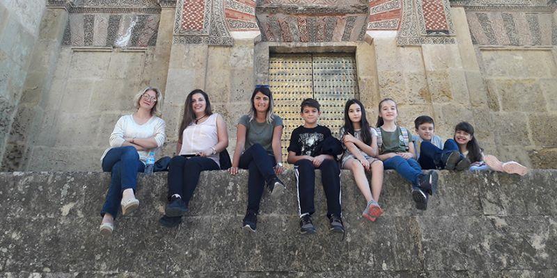Atatürk Ortaokulu İspanya'yı gezdi