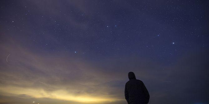 Kandıra'dan gözlendi! Büyüleyen Geminid meteor yağmuru