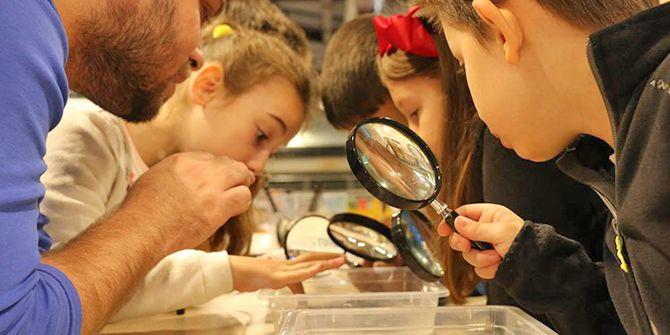 Bilim Merkezi'ni ayda 18 bin kişi ziyaret ediyor
