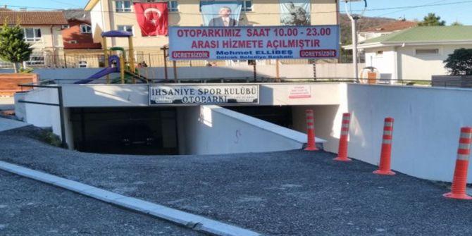 İhsaniye otoparkıücretsiz açıldı