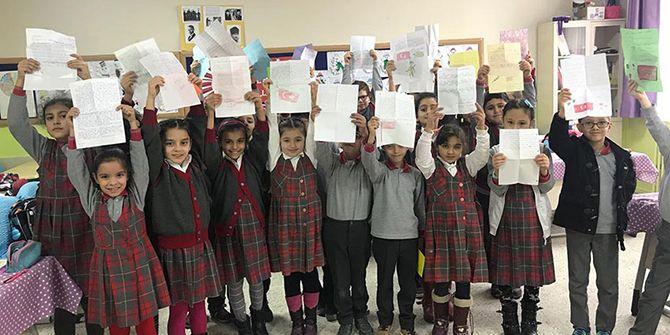 Afrin'deki askerlere duygulandıran mektuplar