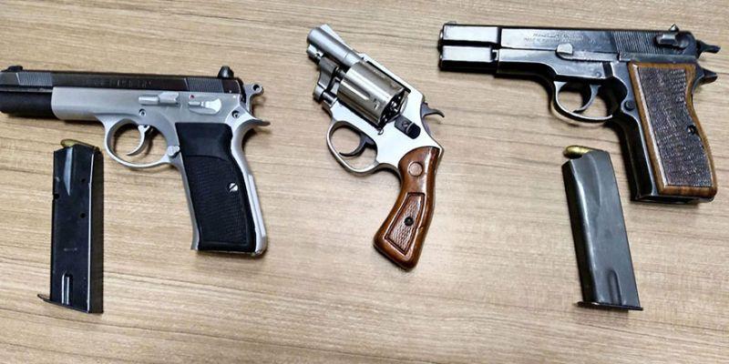 Kaçak silah operasyonunda 7 kişi gözaltında