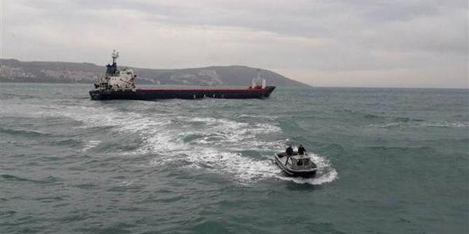 Dilovası'na gelen gemide patlama