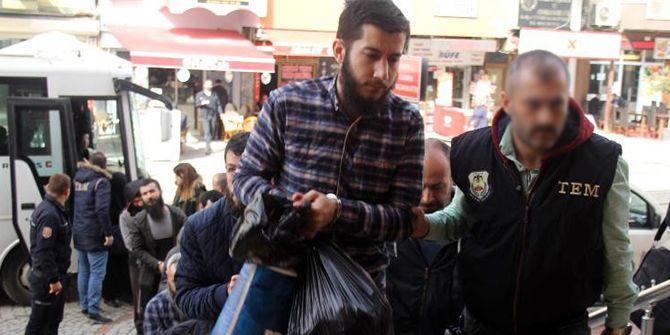 Kocaeli'de DEAŞ üyesi 10 kişi tutuklandı