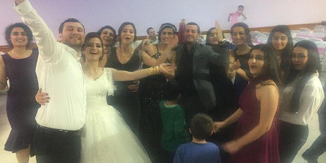 Urfa ve Samsun aynı düğünde buluştu