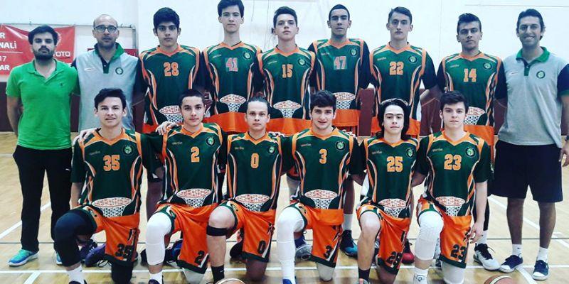 Kocaeli Basket U16, Türkiye beşincisi oldu