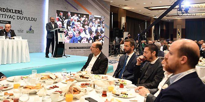 Üzülmez, Erdoğan'ın konuk olduğu toplantıda konuştu