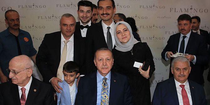 Kayseri'deki düğüne Güney ailesi de katıldı