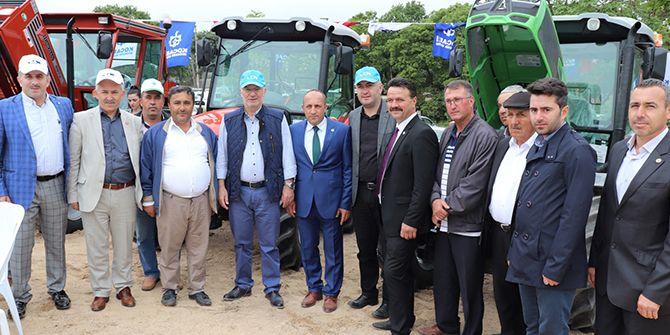 Çiftçiler şenlikte buluştu