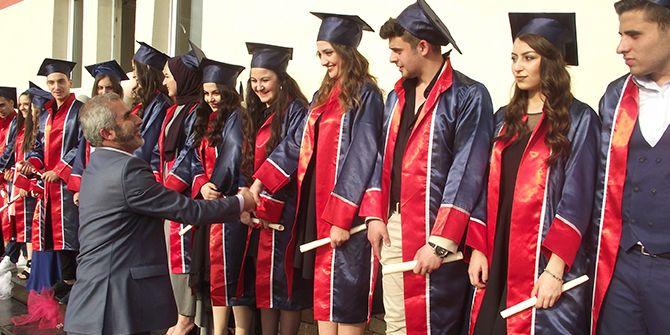 Yıldız Entegre MTAL'de kemençeli mezuniyet