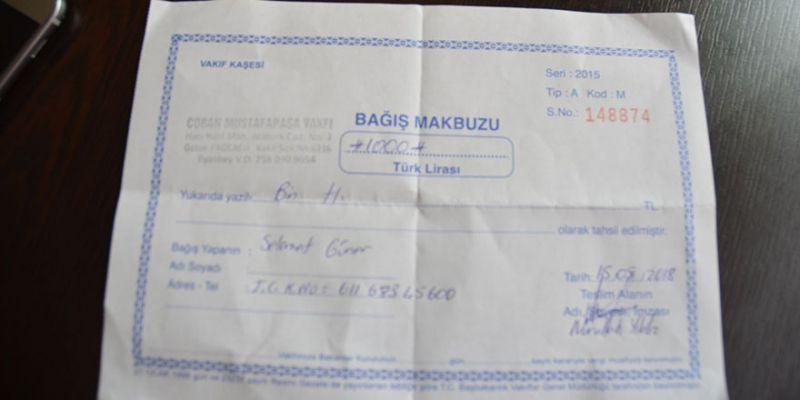 Yalan habere AK Parti'den belgeli yanıt